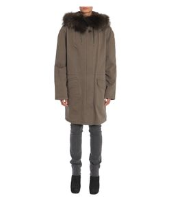Army Yves Salomon | Parka Army In Canvas