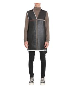 Rick Owens | Giacca In Pelle E Shearling