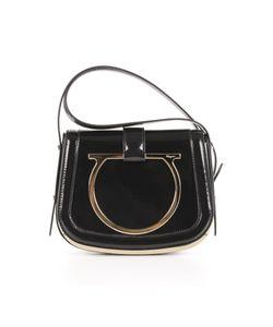 Salvatore Ferragamo | Shop Online Black Leather Shoulder Bag