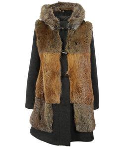Blancha   Duffled Hooded Coat