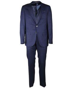 Corneliani | Checked Suit