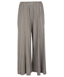 Pleats Please By Issey Miyake | Pleats Please Issey Miyake Pleated Cropped Trousers