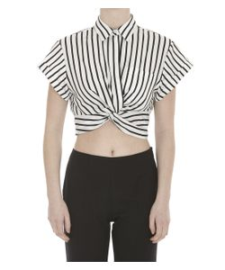 Alexander Wang | Striped Twist Top