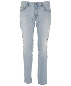 Pt05 | Distressed Slim Jeans