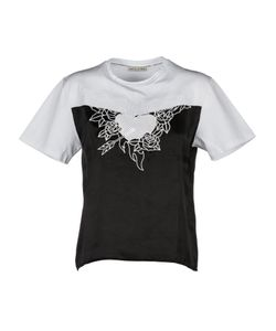 Each X Other | Embroidered Heart Contrast Top