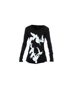 Ann Demeulemeester | Bird Print T-Shirt