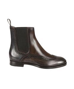 Santoni | Brogues Chelsea Ankle Boots