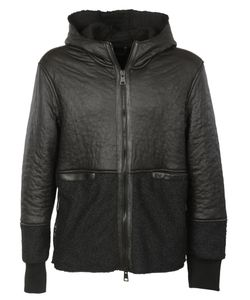 Dacute | Hooded Leather Jacket