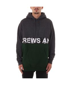 Andrea Crews | Green/Grey Hoodie