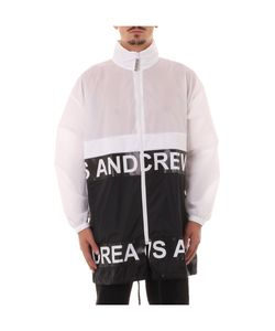 Andrea Crews | White/Black Light Jacket