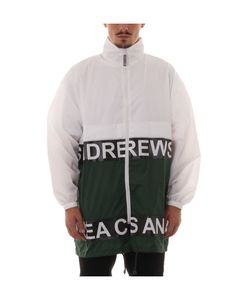 Andrea Crews | White/Green Light Jacket