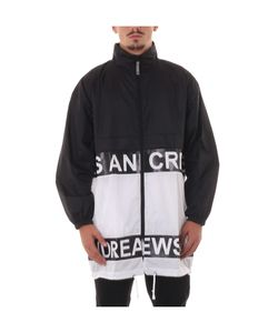 Andrea Crews | Black/White Light Jacket