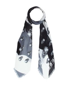 Alexander McQueen | Abstract Skull Print Foulard