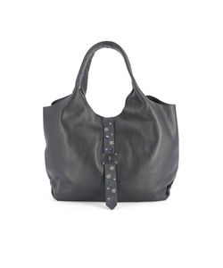 Henry Beguelin | Dark Leather Shoulder Bag