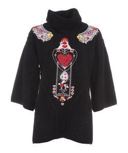 Piccione.Piccione | Piccione Piccione Embroidery Sweater