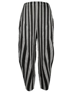 Pleats Please By Issey Miyake | Rounded Leg Trousers