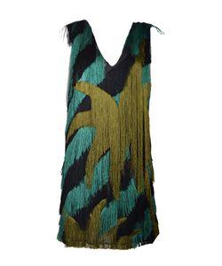 Marco de Vincenzo | Striped Fringed Dress