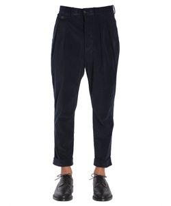 Wooster + Lardini   Velvet Trousers