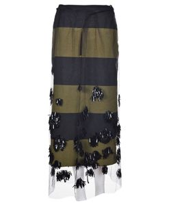 Dries Van Noten | Schiller Embellished Skirt