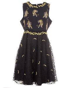 Giamba | Tiger Print Dress