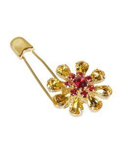 Dolce & Gabbana | Crystal Flower Safety Pin