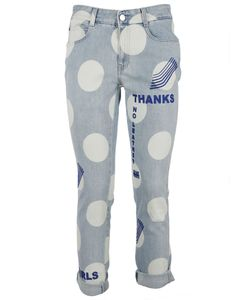 Stella McCartney | Polka Dot And Printed Jeans