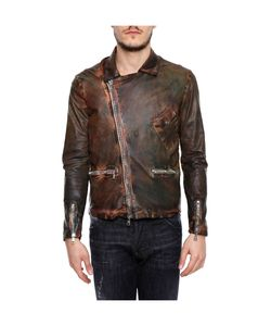 Giorgio Brato | Leather Jacket With Diagonal Zip