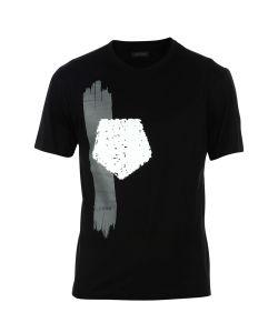 Ermenegildo Zegna | Logo Brush Print T-Shirt
