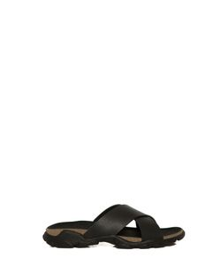 Stella McCartney   Leather Crossed Slippers