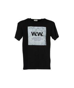 Wood Wood | Concrete Square T-Shirt
