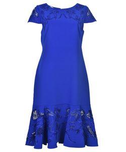 Marchesa Notte | Peplum Hem Dress