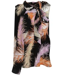 Emilio Pucci | Feather Print Top