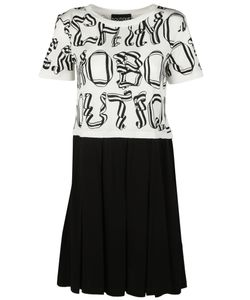 Boutique Moschino | Letter Print Dress