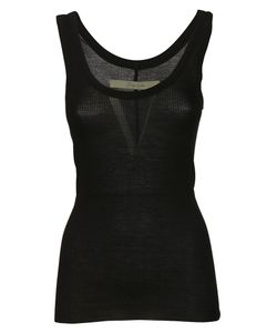 Enza Costa | Rib Fitted Bold Tank Top