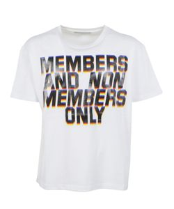 Stella McCartney | Members Print T-Shirt