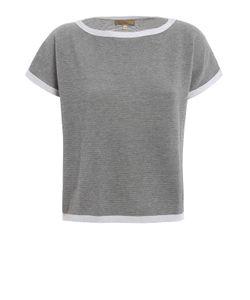 Fay | Lurex Detailed Boxy Sweater