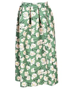 Rochas | Pleated Skirt From Pleated Skirt With