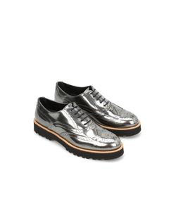 Hogan | Route Brogue Lace-Ups In Suede