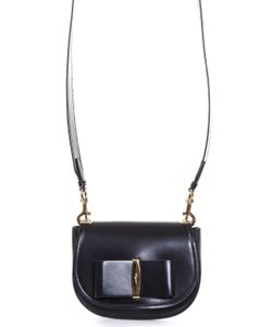 Salvatore Ferragamo | Brushed Leather Shoulder Strap