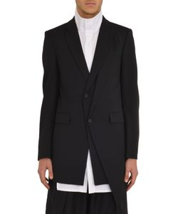D.Gnak | 7505 Layered Lapel Blazer