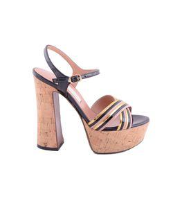 L'Autre Chose | Ankle Length Platform Sandals