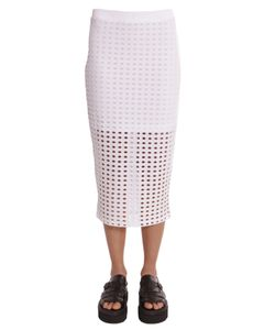 T by Alexander Wang   Openworked Skirt
