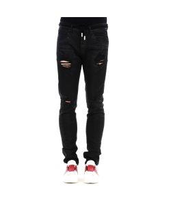 Off-White | Diagonal Spray Denim Pants