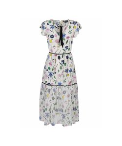 Markus Lupfer | Fruit Blossom Sheer Belle Dress