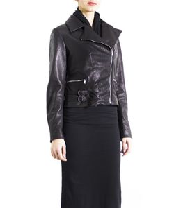 Altalana | Leather Collection Lamb Ovis Aries Black Biker Jacket