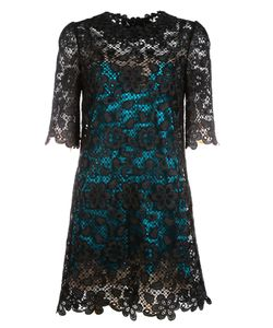 Dolce & Gabbana | Contrast Lining Lace Dress