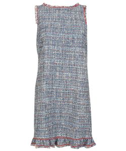 Boutique Moschino | Frayed Tweed Dress