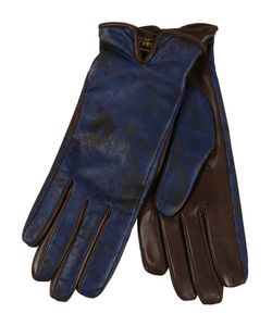 Restelli | Nappa Leather Gloves With Floral Prints