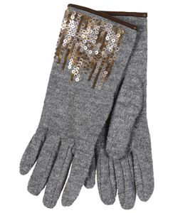 Restelli | Alpaca Gloves With Paiettes