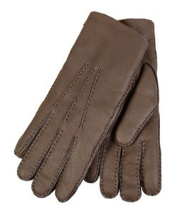 Restelli | Lamb Leather Finishing Hand-Stitched Gloves